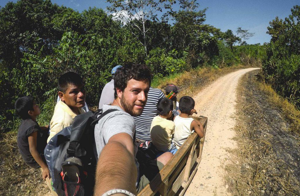 Camino a lago Cuipari a unas horas en lancha desde Yurimaguas